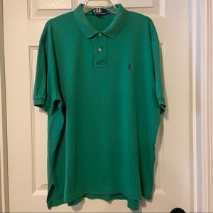 Polo by Ralph Lauren XL Men's Green Polo Shirt